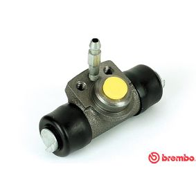 BREMBO  A 12 044 Radbremszylinder Bohrung-Ø: 14,28mm