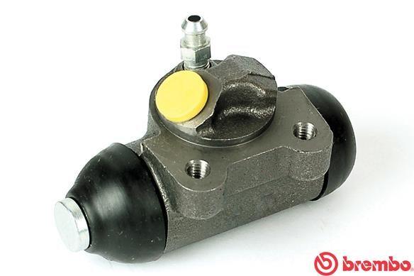 BREMBO  A 12 061 Radbremszylinder Bohrung-Ø: 22,2mm