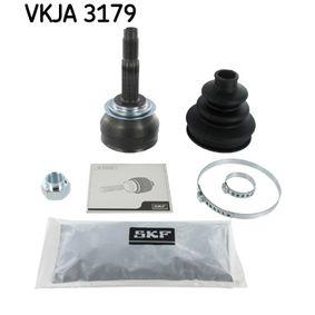 SKF  VKJA 3179 Gelenksatz, Antriebswelle Außenverz.Radseite: 20