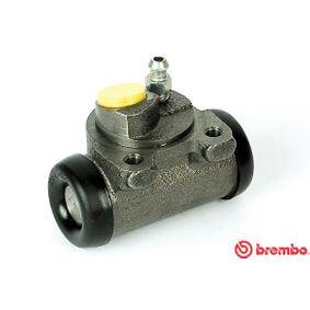 BREMBO  A 12 136 Radbremszylinder Bohrung-Ø: 19,05mm