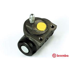BREMBO  A 12 187 Radbremszylinder Bohrung-Ø: 19,05mm