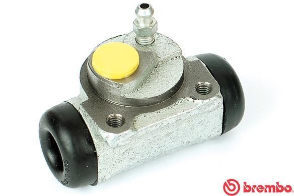 BREMBO  A 12 205 Radbremszylinder Bohrung-Ø: 20,64mm