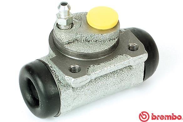 BREMBO  A 12 206 Radbremszylinder Bohrung-Ø: 20,64mm