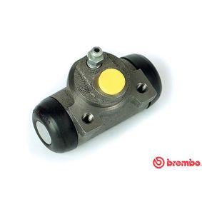 Wheel Brake Cylinder A 12 275 PUNTO (188) 1.2 16V 80 MY 2000