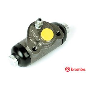 BREMBO  A 12 276 Radbremszylinder Bohrung-Ø: 19,05mm