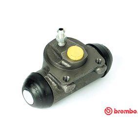 BREMBO  A 12 279 Radbremszylinder Bohrung-Ø: 20,64mm