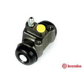 BREMBO  A 12 284 Radbremszylinder Bohrung-Ø: 25,4mm
