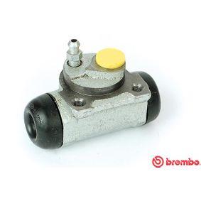 BREMBO  A 12 287 Radbremszylinder Bohrung-Ø: 20,64mm