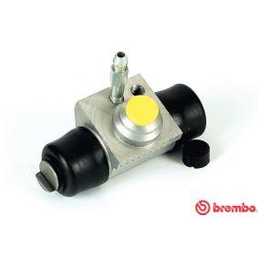 BREMBO  A 12 289 Radbremszylinder Bohrung-Ø: 19,05mm