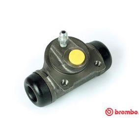 BREMBO  A 12 292 Radbremszylinder Bohrung-Ø: 20,64mm