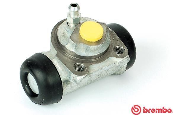 BREMBO  A 12 317 Radbremszylinder Bohrung-Ø: 17,46mm