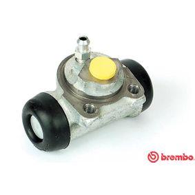 Radbremszylinder Bohrung-Ø: 17,46mm mit OEM-Nummer 77 01 040 850