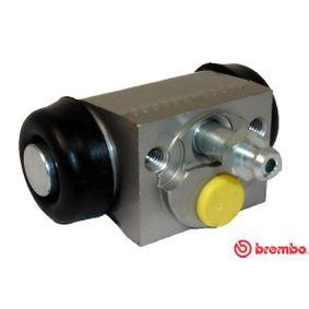 BREMBO  A 12 335 Radbremszylinder Bohrung-Ø: 17,46mm
