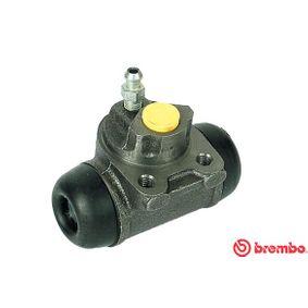BREMBO  A 12 342 Radbremszylinder Bohrung-Ø: 19,05mm