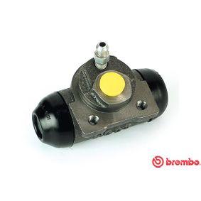BREMBO  A 12 350 Radbremszylinder Bohrung-Ø: 19,05mm