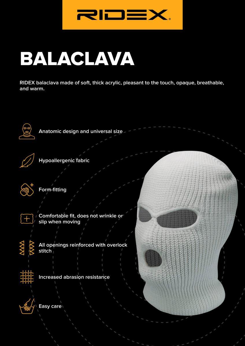 Balaklava RIDEX 100177A0002 Expertkunskap