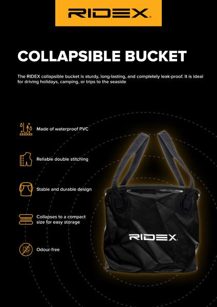 Folding bucket RIDEX 100185A0002 expert knowledge