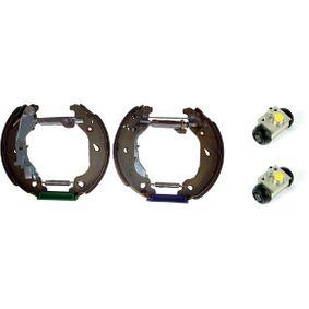 Brake Set, drum brakes K 23 048 PUNTO (188) 1.2 16V 80 MY 2004