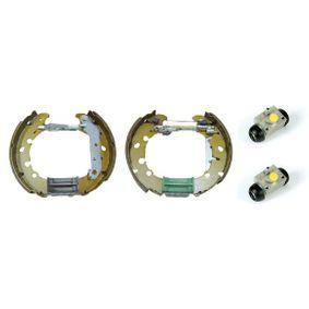 Kit frenos, disco de tambor con OEM número 1106634