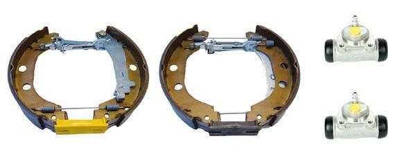 BREMBO KIT & FIT K 68 064 Bremsensatz, Trommelbremse
