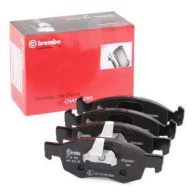 Bremsbelagsatz, Scheibenbremse Breite 1: 150,1mm, Breite 2: 151,4mm, Höhe: 52,3mm, Dicke/Stärke: 18mm mit OEM-Nummer 9948870