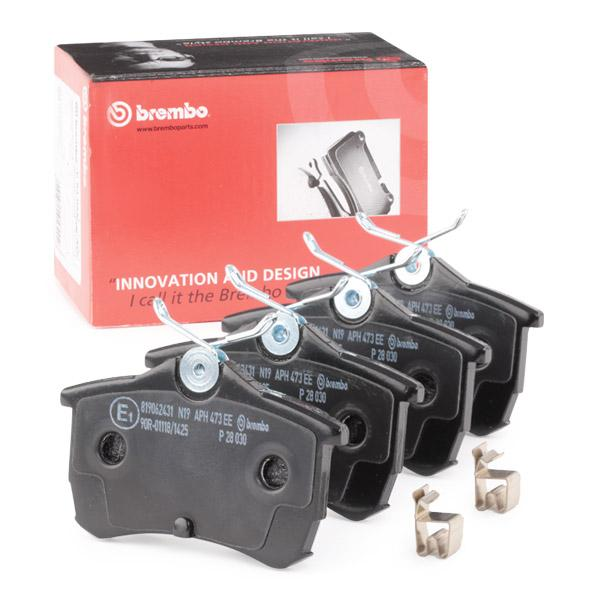 Disk Pads BREMBO P 28 030 expert knowledge