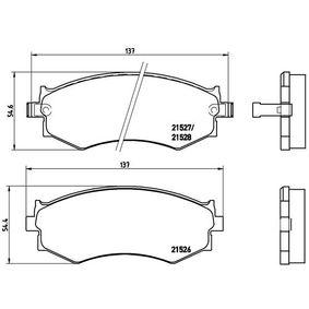Bremsbelagsatz, Scheibenbremse Art. Nr. P 30 002 120,00€