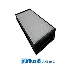 Filter, Innenraumluft Länge: 293mm, Breite: 145mm, Höhe: 34mm mit OEM-Nummer 64 31 6 945 585