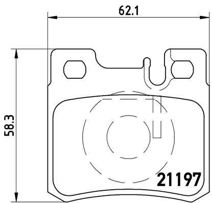 Artikelnummer 7374D495 BREMBO Preise