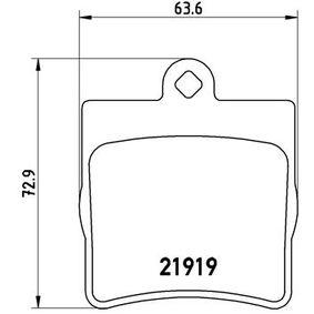 Bremsbelagsatz, Scheibenbremse Art. Nr. P 50 025 120,00€