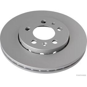 Brake Disc Brake Disc Thickness: 22mm, Num. of holes: 5, Ø: 255,8mm with OEM Number 6QD615301