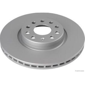 Bremsscheibe Bremsscheibendicke: 25mm, Lochanzahl: 9, Ø: 312mm mit OEM-Nummer 5N0 615 301