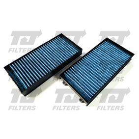 Filter, Innenraumluft Länge: 300mm, Breite: 145mm, Höhe: 40mm mit OEM-Nummer 6411 9248 294