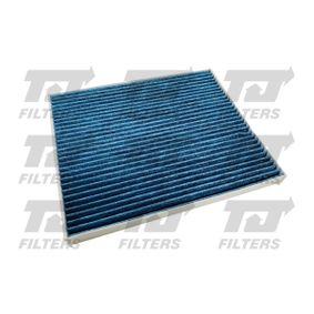 Filter, Innenraumluft Länge: 220mm, Breite: 265mm, Höhe: 20mm mit OEM-Nummer 1808 012
