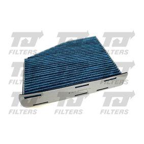 Filter, Innenraumluft Länge: 288mm, Breite: 215mm, Höhe: 57mm mit OEM-Nummer 1K1 819 669