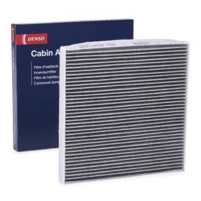 Filter, Innenraumluft Länge: 216mm, Breite: 216mm, Höhe: 19mm mit OEM-Nummer 0897400820