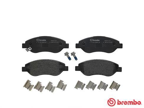 Disk brake pads BREMBO 24551 rating