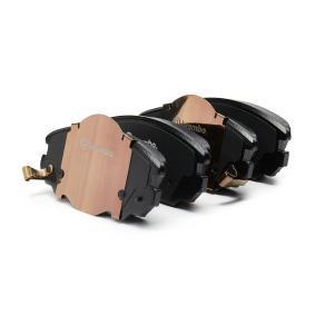 Bremsbelagsatz, Scheibenbremse Breite: 131,5mm, Höhe: 59,7mm, Dicke/Stärke: 19,1mm mit OEM-Nummer 1323 7753