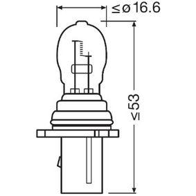 Bulb, park- / position light PSX26W, PG18.5D-3, 12V, 26W 6851 BMW X5 (F15, F85)