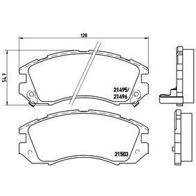 Bremsbelagsatz, Scheibenbremse Art. Nr. P 78 004 120,00€
