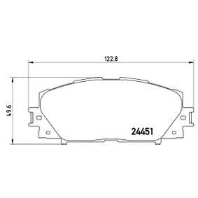 P 83 106 BREMBO D11848538 in Original Qualität