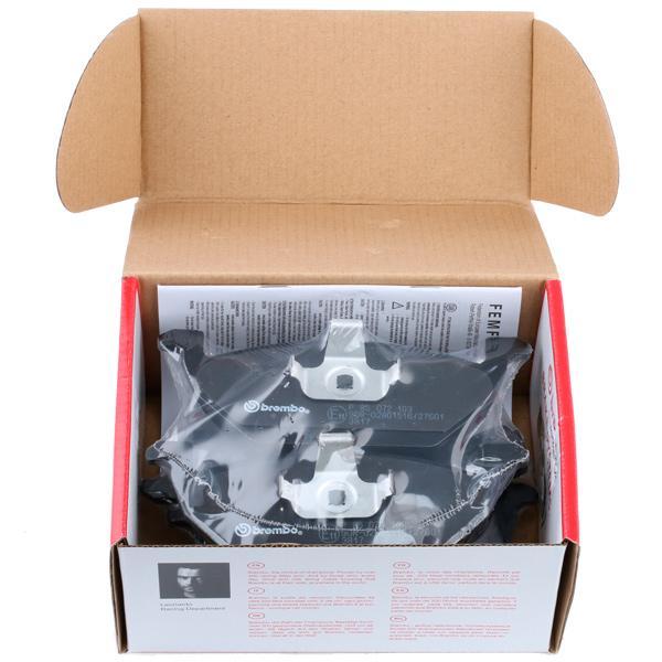 Pastillas de freno de disco BREMBO 23130 8020584058756