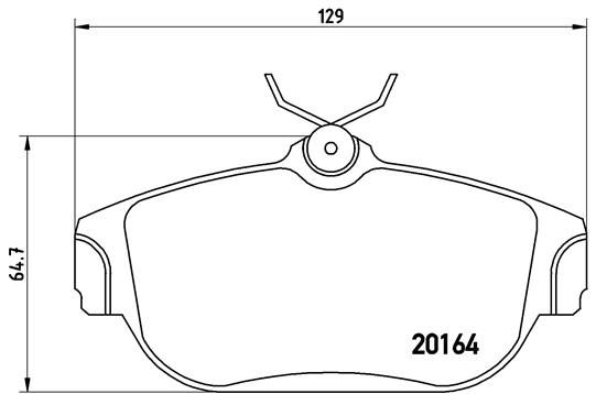 Article № 7512D634 BREMBO prices