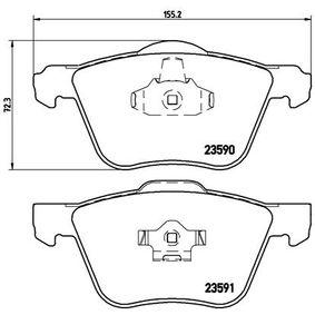 Brake Pad Set, disc brake Article № P 86 022 £ 140,00