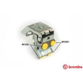 BREMBO  R 61 010 Bremskraftregler