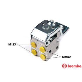 BREMBO  R 68 014 Bremskraftregler
