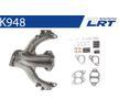 Original LRT 16620714 Krümmer, Abgasanlage