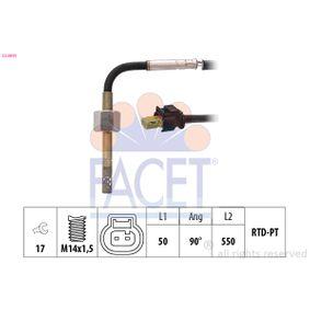 Sensor, Abgastemperatur mit OEM-Nummer A007 153 9028