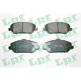 Brake Pad Set, disc brake Width: 148,9mm, Height: 59,2mm, Thickness: 20mm with OEM Number 58101G 4A10