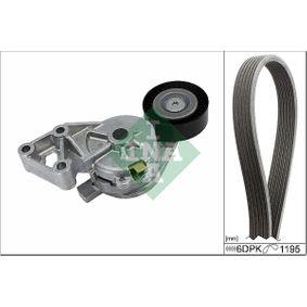 V-Ribbed Belt Set 529 0465 10 OCTAVIA (1U2) 1.9 TDI MY 2010